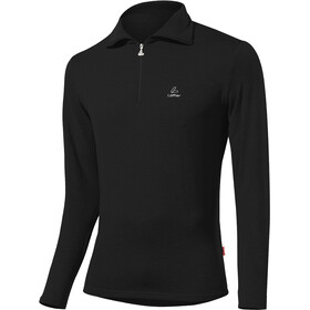 Löffler Basic CF Transtex Sweater met Rits Heren, black